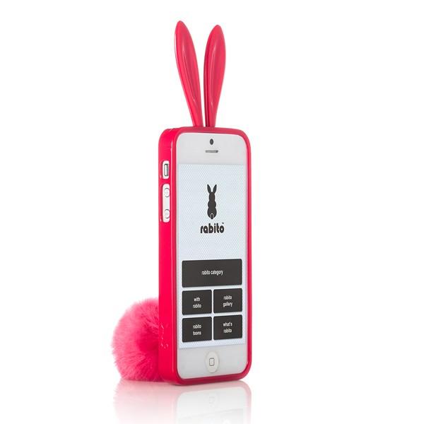 Чехол Rabito для iPhone 5, 5s, 4, 4s красный