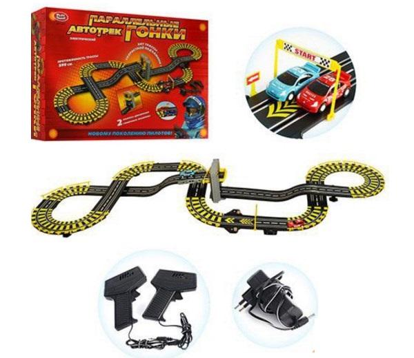 Автотрек - «Параллельные гонки» Joy Toy