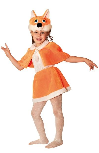 Карнавальный костюм Лисичка мех