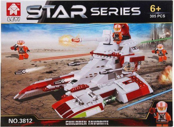 Конструктор Star series Звездолет Leyi