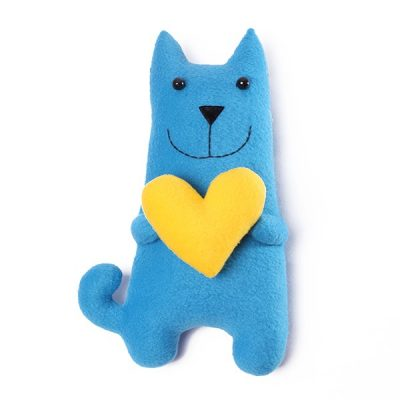 Кот амурчик голубой (большой)