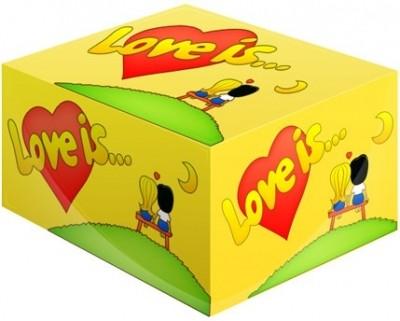 «Love is...» кокос-ананас жевательная резинка