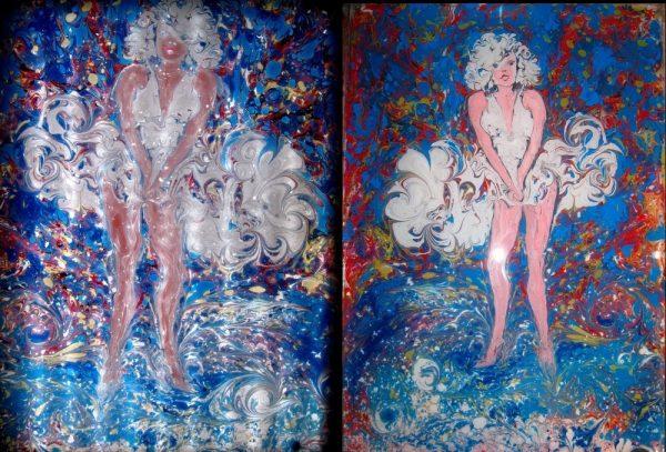 Мастер-класс по рисункам на воде Эбру