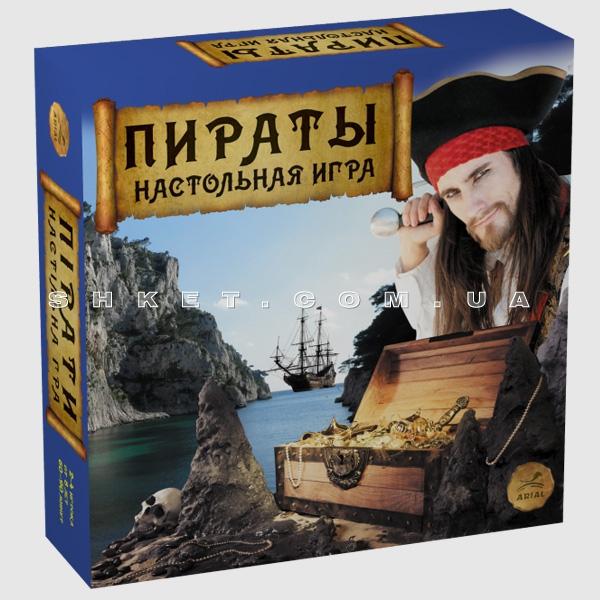 Настольная игра «Пираты»