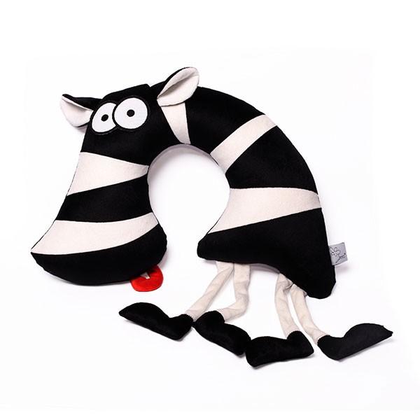 Подушка-подголовник «Зёбр Добр»