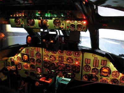 Полет на симуляторе ТУ-134