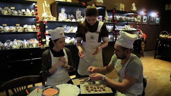 Шанс научиться делать шоколадные конфеты