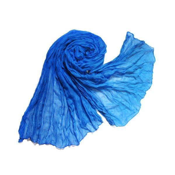 Шарф «Лёгкость» синий