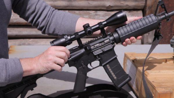 Стрельба из оружия снайперов