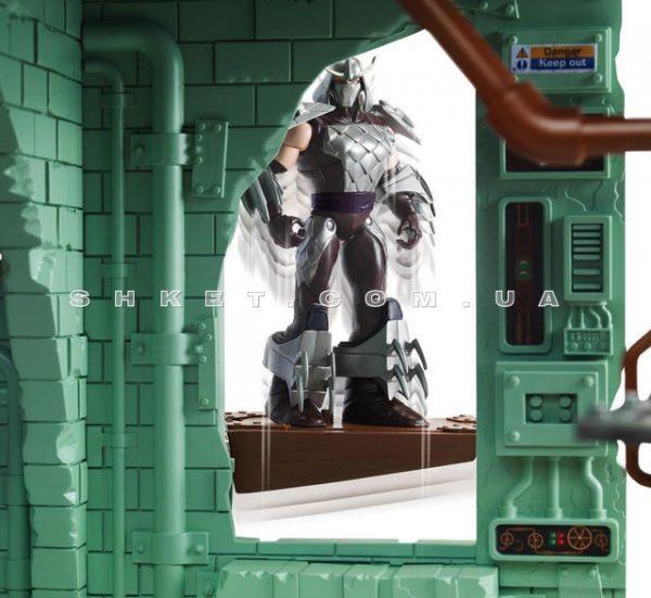 Супер - набор серии Черепашки-ниндзя «Секретная штаб-квартира»
