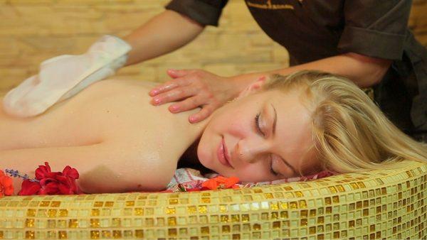 Турецкий мыльный массаж