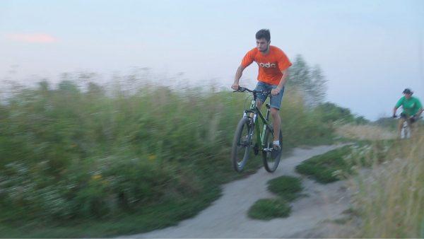 Урок экстремального велодрайва
