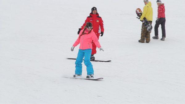 Урок езды на лыжах/сноуборде