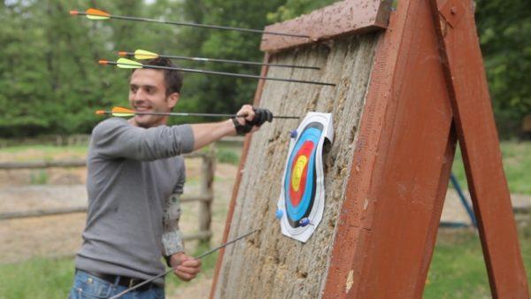 Урок стрельбы из лука