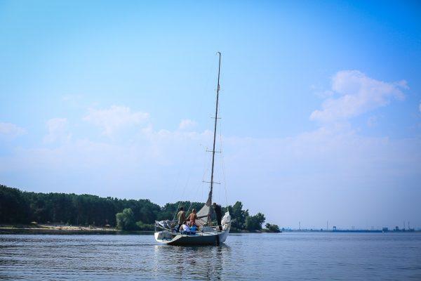 Урок управления яхтой