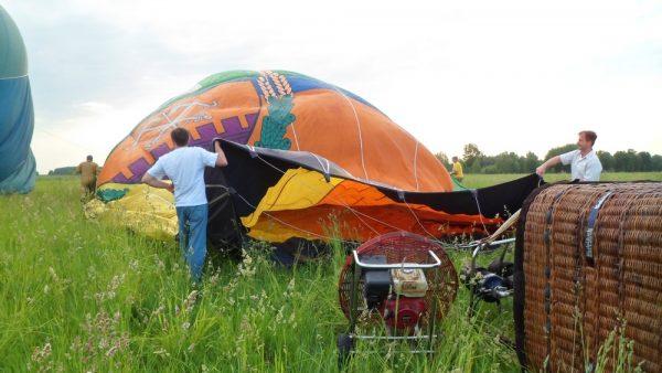 VIP-полет на воздушном шаре для двоих