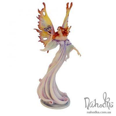 Статуэтка «Юная бабочка на листке»
