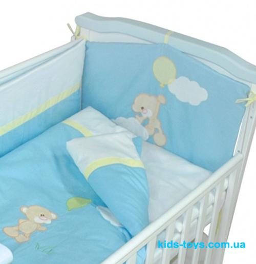 Детская постель «Мишка с шариком»