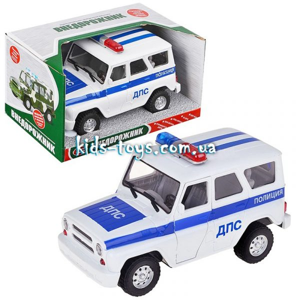Инерционная машинка «Дорожная полиция»