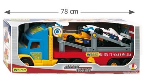 Тягач Wader для спортивных авто серия Super Truck