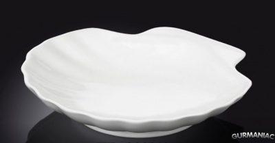 Блюдо-ракушка фарфоровое Wilmax 15 см