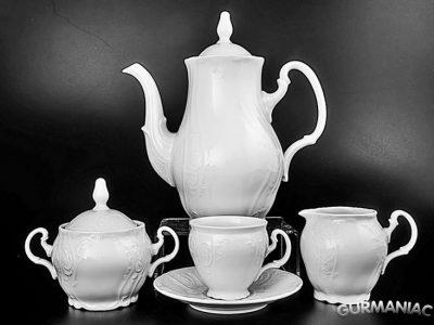 Кофейный сервиз Thun «Bernadotte» 17 предметов на 6 персон