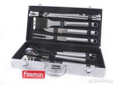 Набор инструментов для барбекю Fissman 12 предметов