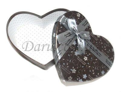 Подарочная коробочка Grey Heart