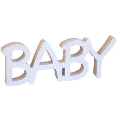 Буквы из дерева Baby