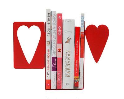 Упоры для книг «Сердца»
