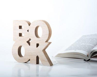 Упоры для книг «Надписи» Book