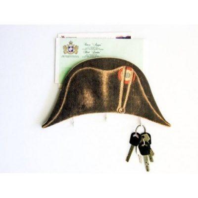 Держатель для ключей и почты «Котелок Наполеон»