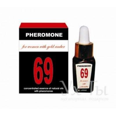 Эссенция масел-афродизиаков «PHEROMON 69 for women»
