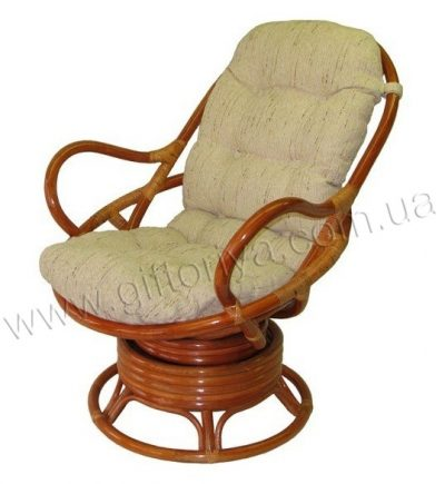 Кресло вращающееся (коньяк)
