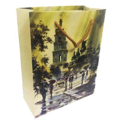 Подарочный крафтовый пакет «Киев»