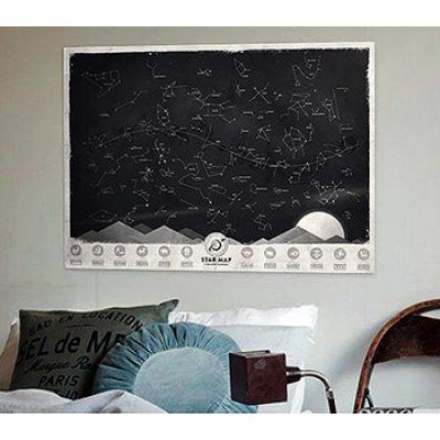 Светящаяся карта звездного неба «Через тернии к звездам»