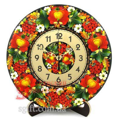 Часы настольные/настенные расписные (ГК-01-03/2)