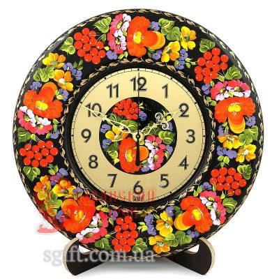Часы настольные/настенные расписные (ГК-01)