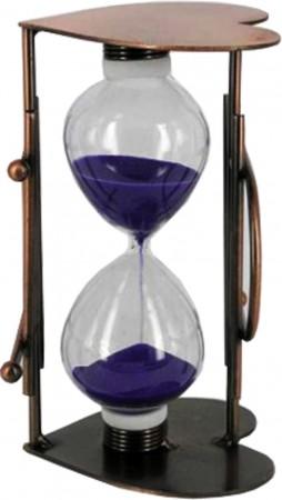 Часы песочные «Сердце»