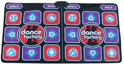 Двойной танцевальный коврик Double Dance factory 32 bit + карта памяти