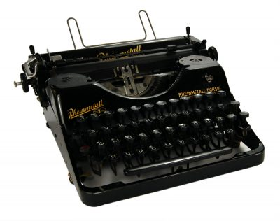 Коллекционная печатная машинка «Rheinmetall Borsig aktiengesellschaft werk sömmerda»