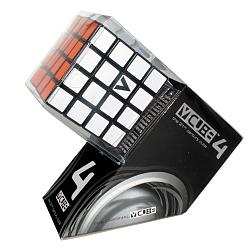 Кубик-Рубика V-CUBE 4 (чёрный плоский)
