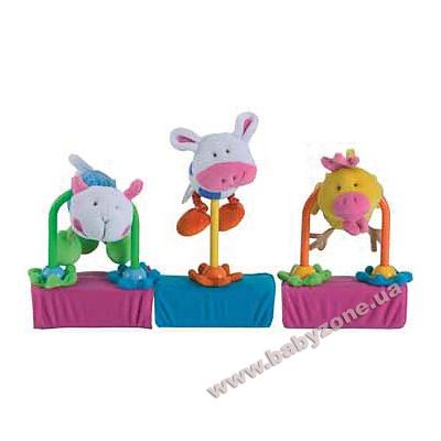 Набор мягких игрушек на липучках