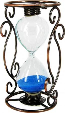 Песочные часы с витой подставкой