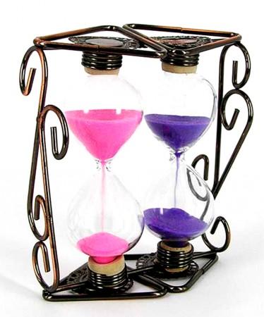 Песочные часы «Вензель двойной»