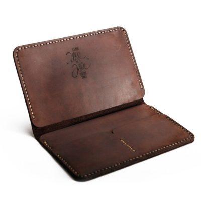 Портмоне «Документ холдер» коричневый