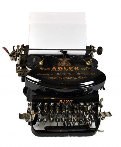 Редкая печатная машинка Adler №7 для коллекционера