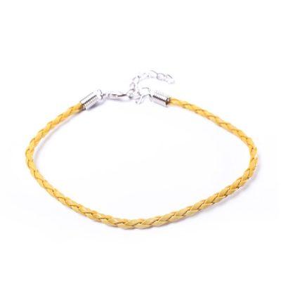 Желтый шнур для браслета