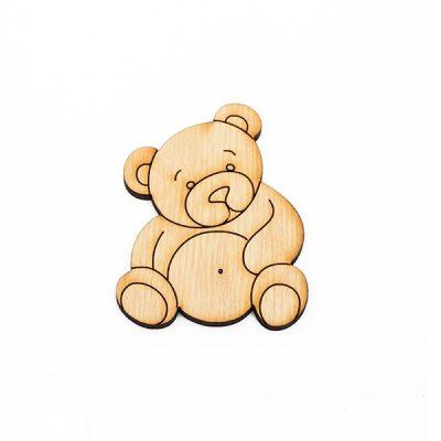 Заготовка для творчества «Медвежонок»