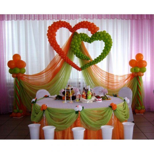 Аэродизайн - свадьба №12
